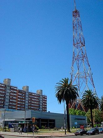 Larrañaga, Montevideo - National Television Canal 5, in Larrañaga