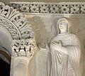 Tempietto longobardo, stucchi del 760 circa, sante martiri e monache 09.jpg