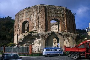 'Temple of Venus', (Baiae, Bay of Naples, Italy).