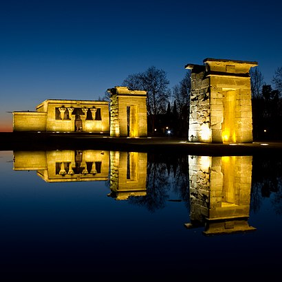 How to get to Templo De Debod with public transit - About the place