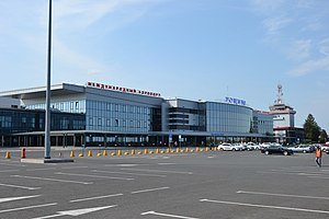 Roshchino International Airport - Image: Terminal airport roshino