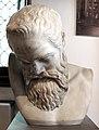 Testa di marsia, copia del II secolo da orig. greco di mirone del 450 ac ca.jpg