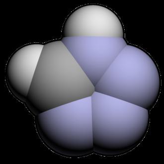 Tetrazole - Image: Tetrazole 3d