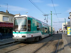 Tramways in Île-de-France - Image: Tfs noisylesec