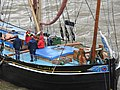 Thames barge parade - in the Pool - Gladys 6697.JPG