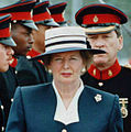 Thatcher reviews troops (cropped).jpg