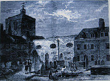 The old church of St James, Clerkenwell