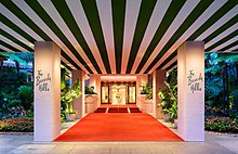Entrance In 2017 Has Had This Same Look For Many Decades The Beverly Hills Hotel