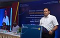 The Chief Secretary, Madhya Pradesh, Shri Basant Pratap Singh addressing the Valedictory Session of two days Regional Conference on 'Good Governance Focus on Aspirational Districts', at Bhopal, Madhya Pradesh.JPG