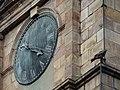 The Clock on the clock tower of the St. John's Church in Kolkata.JPG