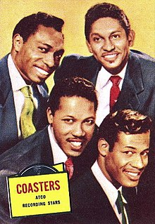 Description de l'image  The Coasters 1957.JPG.