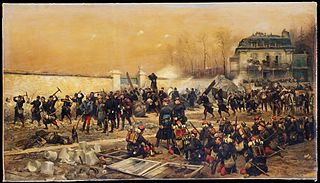 The Defense of Champigny