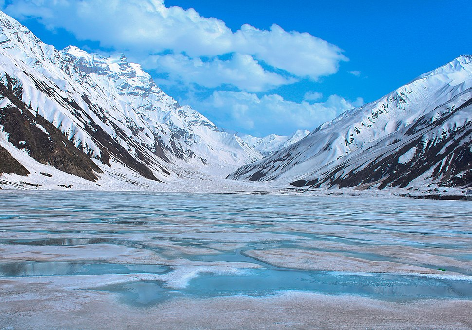 The Frozen Saif Ul Malook Lake