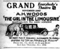 The Girl in the Limousine 1921 advert.PNG