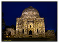 The Gumbad tomb by night (Lodhi garden) - Shot by Abhinay Pochiraju.jpg