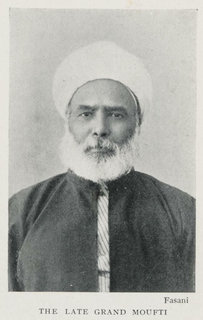 The Late Grand Moufti (1906) - TIMEA