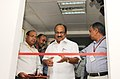 The Minister of State (Independent Charge) for Consumer Affairs, Food and Public Distribution, Professor K.V. Thomas inaugurating the Central Grain Analysis Laboratory for analyzing samples of foodgrains, in New Delhi.jpg