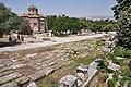 The Panathenaic Way in Ancient Agora of Athens on June 29, 2021.jpg