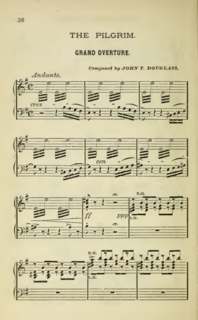 John Thomas Douglass American composer, violinist, conductor and teacher (1847–1886)