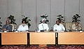 The Prime Minister, Dr. Manmohan Singh chairing the meeting on Commonwealth Games, in New Delhi on August 14, 2010.jpg