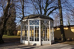 Photo of a gazebo