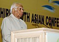 The Speaker, Lok Sabha, Shri Somnath Chatterjee addressing at the third South Asian Conference on Sanitation (SACOSAN-III), in New Delhi on November 21, 2008.jpg