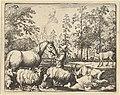 The Story of the Horse Who Wants Revenge on the Stag from Hendrick van Alcmar's Renard The Fox MET DP837677.jpg