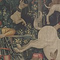 The Unicorn Defends Itself (from the Unicorn Tapestries) MET DP101157.jpg