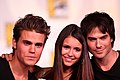 The Vampire Diaries main cast by Gage Skidmore.jpg