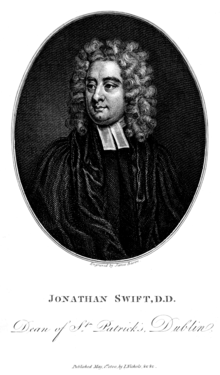 The Works of the Rev. Jonathan Swift, Volume 1 frontispiece.png