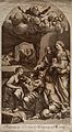The birth of the Virgin Mary. Engraving by R.V. Audenaerd af Wellcome V0034529.jpg