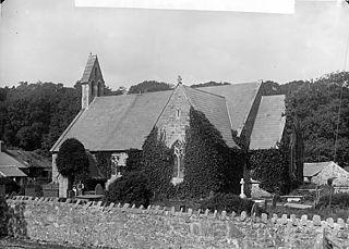 The church, Llanystumdwy