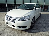 The frontview of Nissan DBA-TB17 SYLPHY G Legrand.jpg