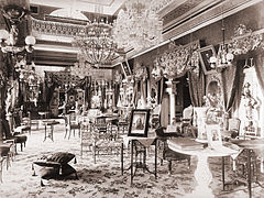 The interior of Bashir-bagh Palace, Hyderabad, India.JPG