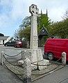 The war memorial near the church, Kilkhampton - geograph.org.uk - 1367634.jpg