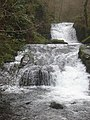 The waterfall, Watersmeet - geograph.org.uk - 1171488.jpg