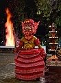 """Theyyam - A North Kerala Traditional Art form - This Charactor is named """"Theechamundi Vellattam"""" . This is in india Esp near Kannur area.jpg"""