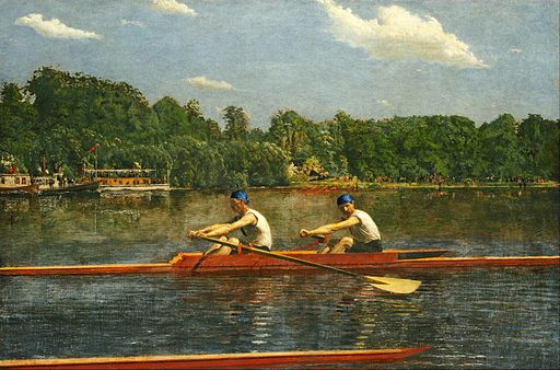Thomas Eakins - The Biglin Brothers Racing