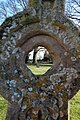 Through a Headstone, Comberton Churchyard - geograph.org.uk - 1086639.jpg