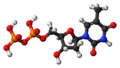 Thymidine diphosphate 3D ball.png