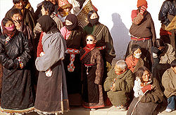 Tibetans as a main ethnic minority group in Sichuan.