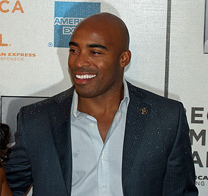 Tiki Barber - Barber at the Tribeca Film Festival in 2007