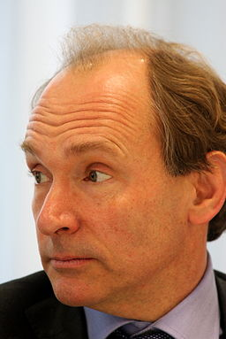 Tim Berners-Lee closeup