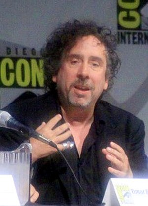 Tim Burton - Tim Burton speaking about 9 at Comic-Con, 2009.