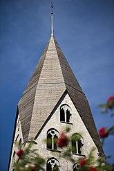 Fil:Tingstäde kyrka tornet.jpg