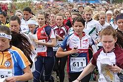 Tiomila 2011 Women's start.jpg