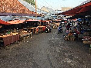 Toboali - A wet market in Toboali
