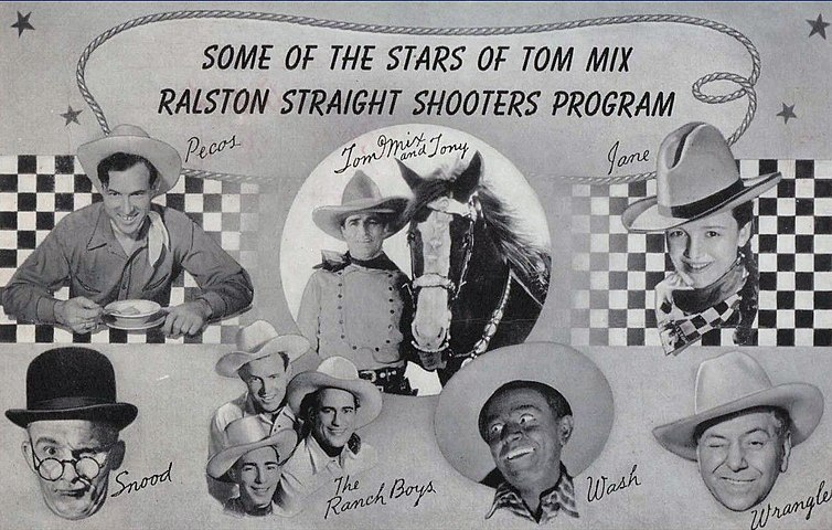 Tom Mix radio show 1941.JPG