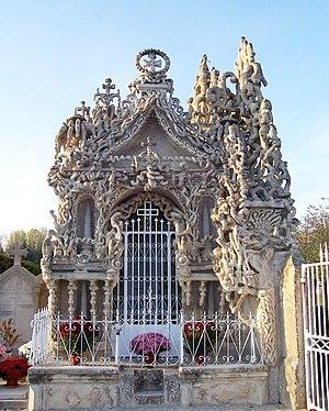 Ferdinand Cheval - Cheval's mausoleum.