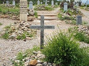 Bisbee massacre - Image: Tombstone Boothill Graveyard Dan Dowd